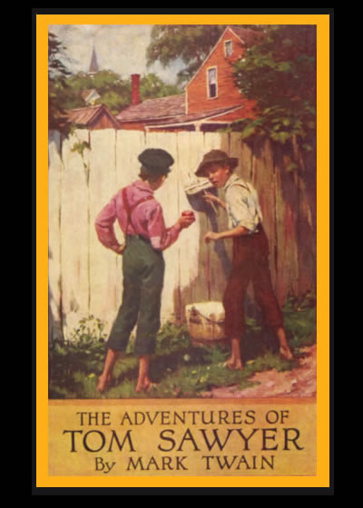 an analysis of mark twains popular novel the adventures of tom sawyer Mark twain's the adventures of tom sawyer (1876) is a book for readers of all ages most readers pick it up young and enjoy it, but too few come back to it later on, when its dark shadings and affectionate satire of small-town life might hit closer to home.